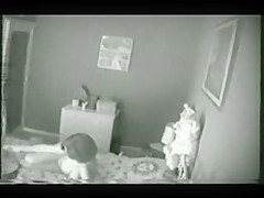 Hidden cam caught my mum masturbating