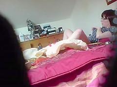 Great hidden cam video of my mom masturbating