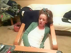 Great orgasm of myhorny ###ter. Hidden cam