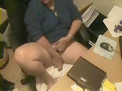 great view of my mom masturbating at pc