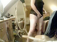 enjoy huge clit of my mom hidden cam