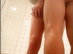 milf in shower   spy camera