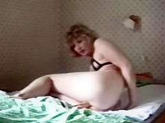 my mom home alone having fun hidden cam
