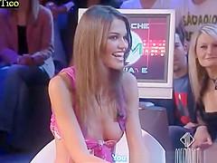 accidental nudity in italian tv