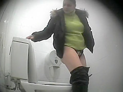 Girl Caught in Bathroom