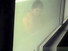 Shower voyeur