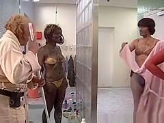 Group Shower in Sweden