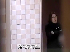 Asian women caught in public toilets