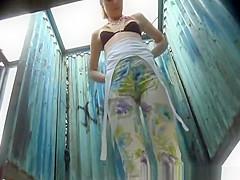 Nice girl in leggings