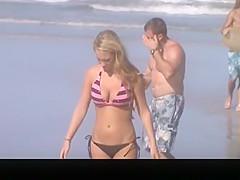 Hot body teen in bikini