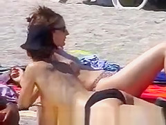 Hot bodies at the beach