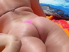 super ass in thong