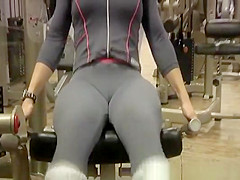 Cameltoe At Gym