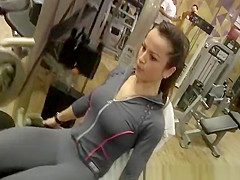 cameltoe at gym