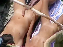 Nudist blowjob for the pictures