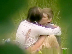 Teen couple fucking in the nature