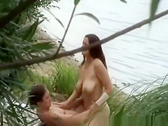 Mutual oral sex and sex on river shore