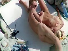 Skinny nudist couple 69