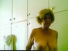 Mature woman wearing dress