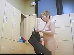 Chick caught on locker room spy