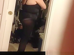 Mature wife dressing