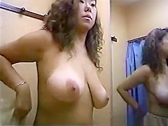 Fitting room pretty boobs