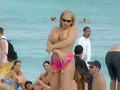 Beach Big Tits