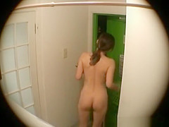 japanese naked at the door