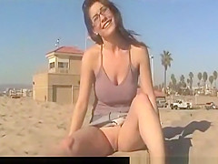 Girl shows her naughty parts