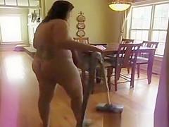 Fat Girl Nude Vacuum
