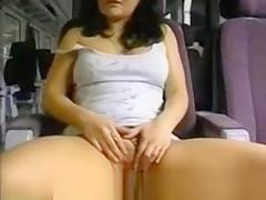 Train Masturbating