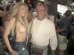 Flash tits in public