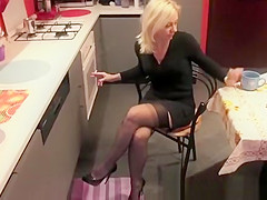 Hot wife in sexy clothes