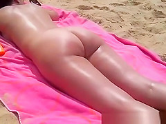 husband films wife naked at beach