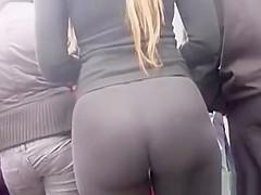 Nice big ass blonde