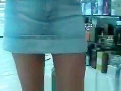 Girl without panties