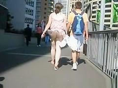 Summer Wind Upskirt