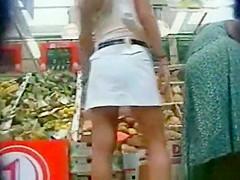 Blonde Upskirt