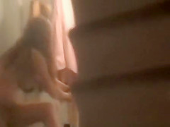 redhead neighbour caught naked