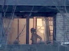 Neighbor window peek
