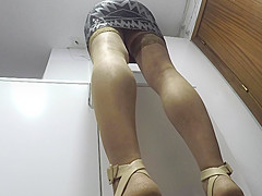 after party upskirt