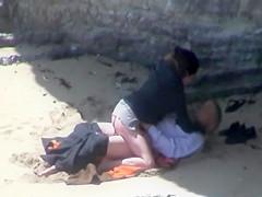 Creep up on a couple having sex