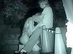 Teen girl gives her boyfriend a blowjob