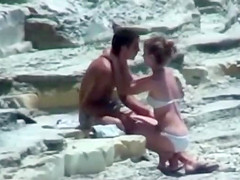 Secretive couple trying to fuck