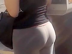 Bumping into an excellent ass