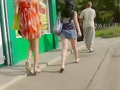 Long drive between her legs