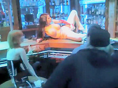 Concealed filming of a striptease joint
