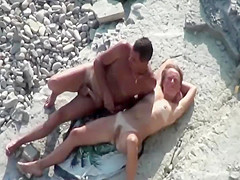 couple fucking in the shallow water
