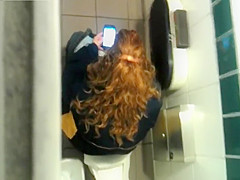 Preying on pissing schoolgirls from above