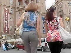 Empowered lady got a firm butt